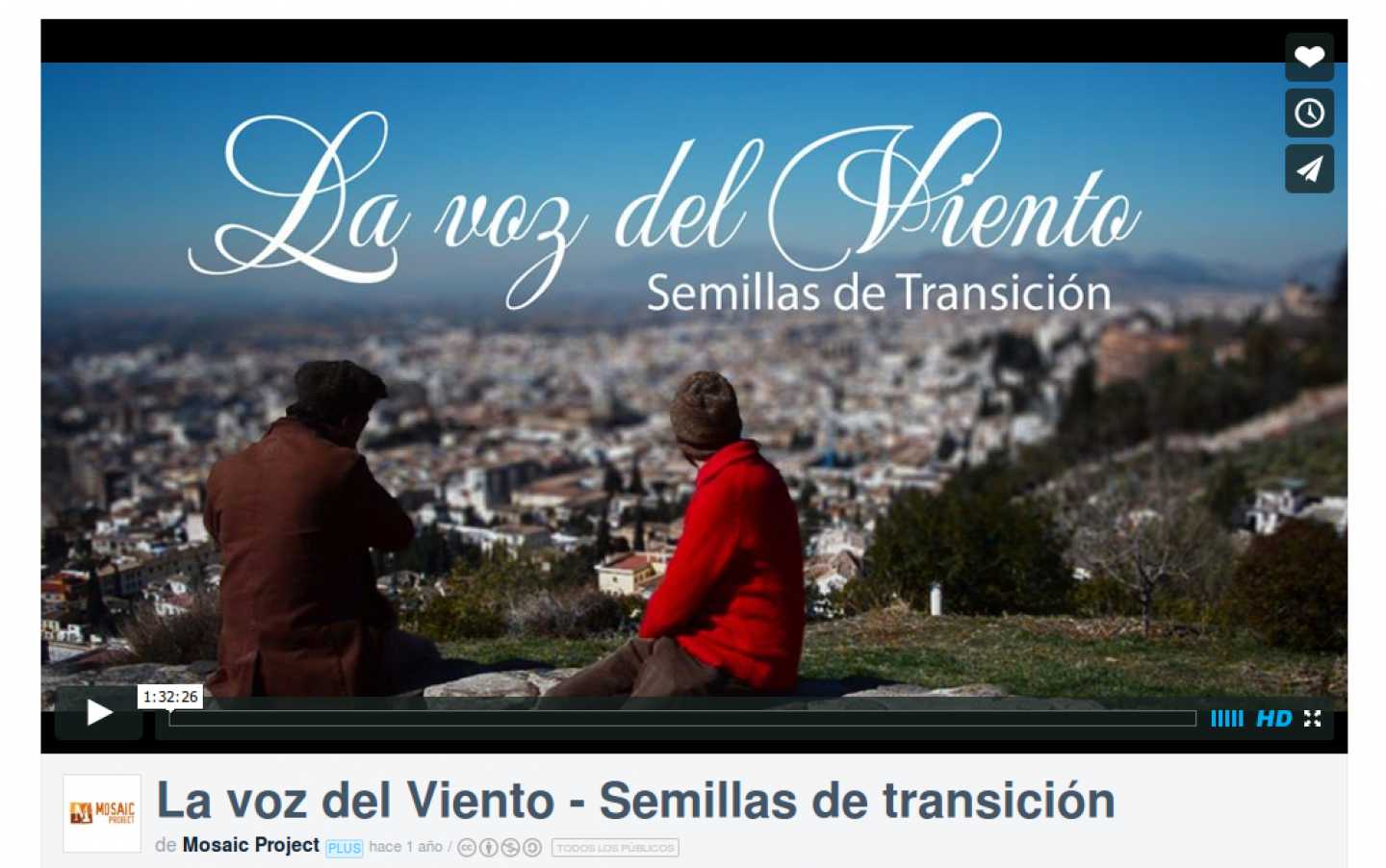 La voz del Viento - Semillas de transición. Video documental